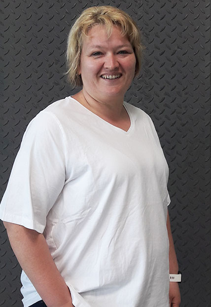 Astrid Bosl, Kaufmännische Assistentin der Firma Finsterwald Stahlbau GmbH & Co.KG