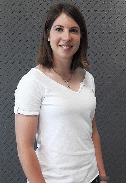 Julia Rauner, Kaufmännische Leiterin der Firma Finsterwald Stahlbau GmbH & Co.KG