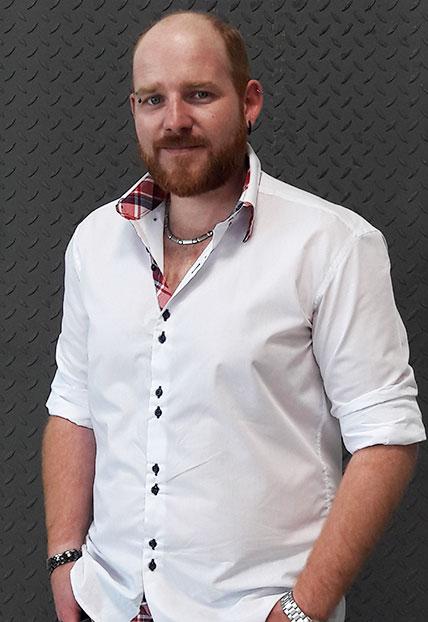 Daniel Hofinger, CAD-Büro der Firma Finsterwald Stahlbau GmbH & Co.KG