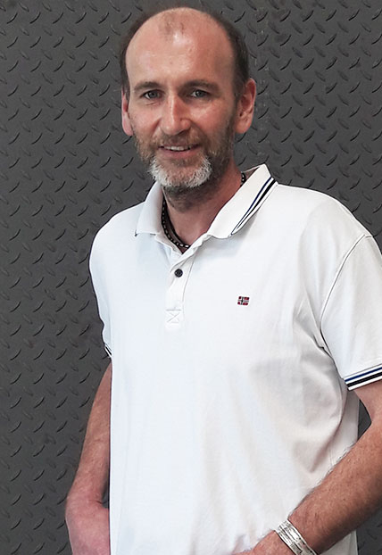 Wolfgang Haider, Technischer Leiter der Firma Finsterwald Stahlbau GmbH & Co.KG